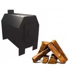 Отопительная печь Буржуй-1 с варочной поверхностью